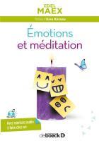 Émotions et méditation (2e édition)
