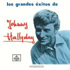 jaquette CD Los Grandes Exitos De Johnny Hallyday (Vogue Made In Colombie)