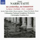 Narbutaité - no yesterday, no tomorrow - la barca - riverbank - river - symphony