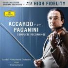Accardo plays Paganini - complete recordings