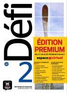 Défi 2 - fle - a2 - livre de l'élève + cd  premium
