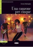Canzone per cinque (una) livre+cd