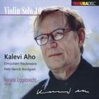 Violin solo - Volume 0. Aho, Rautavaara, Nordgren : oeuvres pour violon