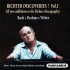 Sviatoslav Richter discoveries - Volume 1 : Bach, Weber