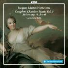 Jacques-Martin Hotteterre : musique de chambre - Volume 3