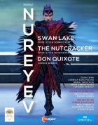 Rudolf Noureev : le lac des cygnes - casse-noisette - Don Quichotte