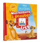 Mon histoire à écouter - le roi lion - l'histoire du film