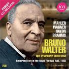 Bruno Walter dirige Malher, Wagner, Haydn & Brahms (Richard Itter Collection)