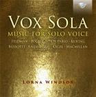 Vox sola : musique pour soprano seule