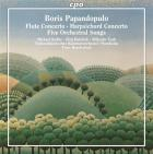 B. papandopulo : concertos pour flute et pour clavecin - melodies avec orchestre