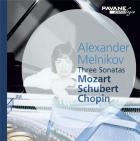 Alexander Melnikov joue Mozart, Schubert et Chopin : oeuvres pour piano