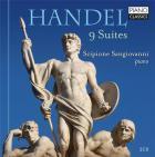 Haendel : neuf suites pour piano