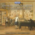 Jommelli, Clementi, Rutini : musique pour clavecin à 4 mains