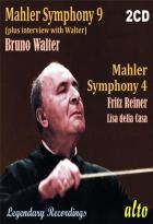 Mahler : symphonies n° 4 et 9