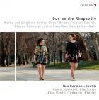 Ode à la rhapsodie. oeuvres pour clarinette et piano