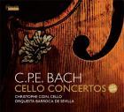 C.P.E. Bach : concertos pour violoncelle