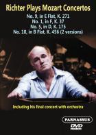 Richter joue Mozart : concertos pour piano n° 1, 5, 9, 18