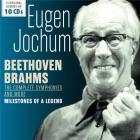 Milestones of a legend - Beethoven & Brahms : Intégrale des Symphonies / Eugen Jochum