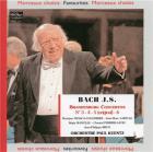 Les concertos brandebourgeois n° 3, 4, 5 & 6