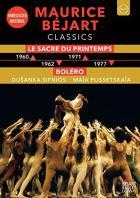 Maurice Béjart classics : Le Sacre du printemps - Boléro | Maurice Béjart (1927-2007). Chorégraphe
