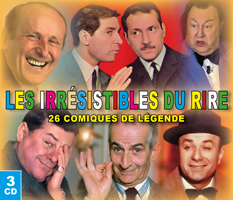 Les irrésistibles du rire - 26 comiques de légende