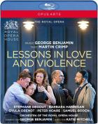 George Benjamin : lessons in love and violence