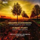 Brahms (orch. Schoenberg): Quatuor avec piano en sol mineur - Parry: Élégie pour Brahms