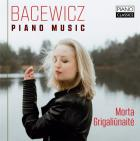 jaquette CD Grazyna Bacewicz : musique pour piano