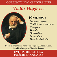 Collection oeuvre lu - Victor Hugo - vol. 2 : Poèmes