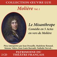 Collection oeuvre lue - Molière - vol. 1 : Le Misanthrope