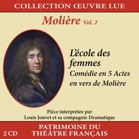 Collection oeuvre lue - Molière - vol. 2 : L'école des femmes
