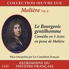 Collection oeuvre lue - Molière - vol. 6 : Le Bourgeois gentilhomme