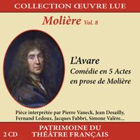 Collection oeuvre lue - Molière - vol. 8 : L'Avare