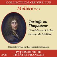 Collection oeuvre lue - Molière - vol. 9 : Tartuffe ou l'Imposteur