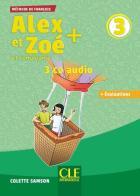 Alex et zoé et compagnie t.3 - fle - 3 cd audio (édition 2019)