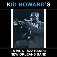 jaquette CD Kid Howard's La Vida Jazz Band & New Orleans Band