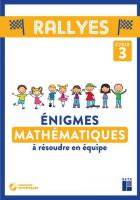 jaquette CD Rallyes - mathématiques - énigmes - cycle 3