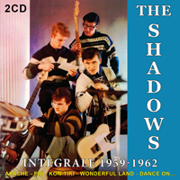 jaquette CD The Shadows : Intégrale 1959-1962