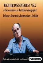 Sviatoslav Richter discoveries - Volume 2 : Debussy, Stravinski, Rachmaninov, Scriabine