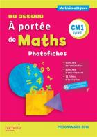 jaquette CD Le nouvel à portée de maths - cm1 - photofiches + cd (édition 2019)