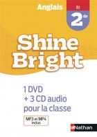 Shine bright - anglais - 2de - b1 - 1 dvd+3 cd audio pour la classe