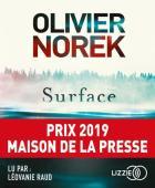 Surface  | Olivier Norek. Antécédent bibliographique