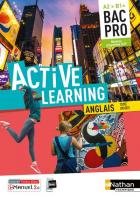 Active learning - anglais - bac pro - a2>b1+ (édition 2019)
