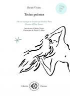 Treize poèmes - mis en musique et chantés par pauline paris