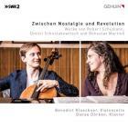 Schumann, Chostakovitch, Martinu : oeuvres pour violoncelle et piano