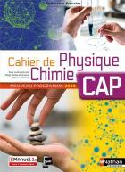Spirales - cahier de physique chimie - cap (édition 2019)