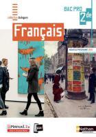 Français - bac pro - 2de - livre + licence de l'élève (édition 2019)
