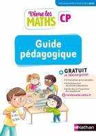 Vivre les maths - guide pédagogique - cp (édition 2019)