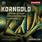 Korngold symphony in F sharp / theme and variations / Straussiana
