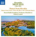 Danses slovaques (dances from Gemer - down the river Váh - Pohronie dances)